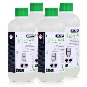DeLonghi EcoDecalk DLSC500 Entkalker für je 5 Entkalkungsvorgänge (4er Pack)