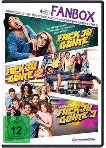Fack Ju Göhte  1-3 (DVD) FAN-BOX, 4Disc Min: 536DD5.1WS