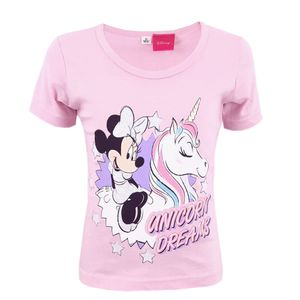 Disney Minnie Maus Einhorn T-Shirt Rosa 104