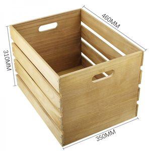 Schallplatten Holz-Kiste / Vinylrecords Box LP-Kiste