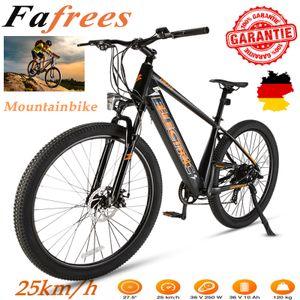 FAFREES 27,5 Zoll 25km/h E-Bike Elektrofahrrad Fahrrad Electric Bike  Mountainbike Elektrofahrrad Citybike Elektrofahrrad 250W