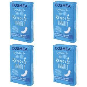 4 x Cosmea Maxi Damenbinden Super Binden 16 Stück