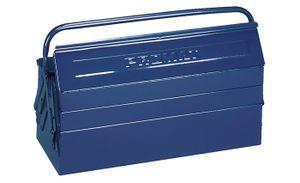 PROMAT Werkzeugkasten 5tlg. 600x200x200mm Stahlblech blau Griff umlegbar