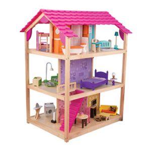 Kidkraft So Chic Holz Puppenhaus; 65078