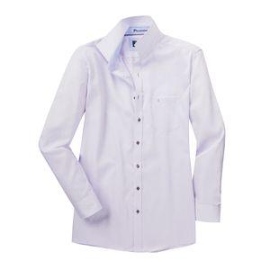Casa Moda Struktur Langarmhemd bügelfrei flieder XXL, Kragenweite:54