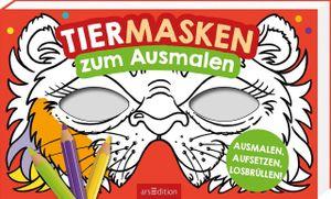 ars Edition Tiermasken zum  Ausmalen
