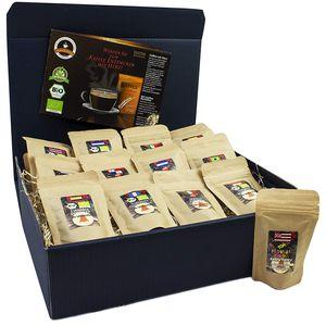 C&T Kaffee-GeschenksetFair 13 Sorten á 25 g (Ganze Bohnen)