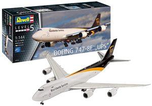 Revell 03912 - Modelbausatz Boeing 747-8F, UPS Paketdienst