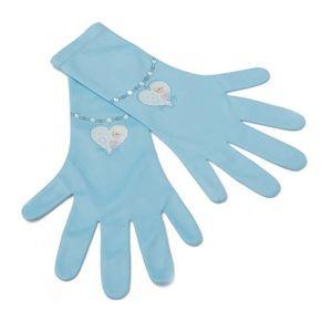 Die Eiskönigin Mädchen-Handschuhe Elsa-Handschuhe hellblau