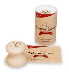 Neustanlo® Lebkuchenglocke Spar-Set Lebkuchenformer Lebkuchenform Lebkuchen Form 7 cm inkl. Spatel