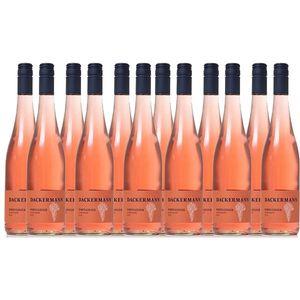 Rosé  Rheinhessen Portugieser Weißherbst Weingut Dackermann mild (12x0,75l)