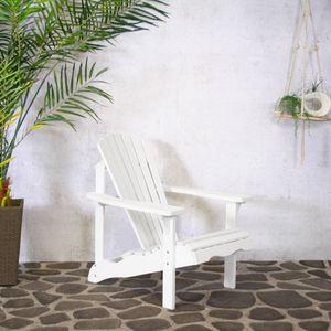 Adiron Deckchair Loungesessel Sens-Line weiß
