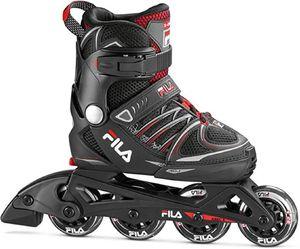 FILA - X-one Jugendliche Kinder Inline Skates, schwarz, Größen:L