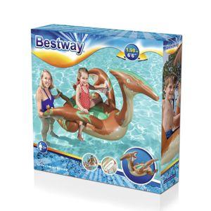 """Bestway  Schwimmtier mit Paddelflügeln """"Saurier"""" ab 3 Jahren 135 x 198 cm"""