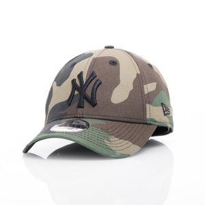 New Era Cap 9FORTY Woodland Camo NY Yankees Black Logo, Cap:OSFA