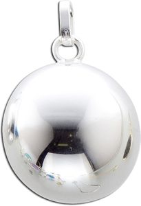 Klangkugel Anhänger Sterling Silber 925 Damenschmuck