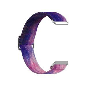 22MM weiches verstellbares Gummiband, Uhrenarmband, Armband in Pfingstrose für Samsung Galaxy Watch3 45mm Huawei GT2 PRO Uhr Ersatzteile