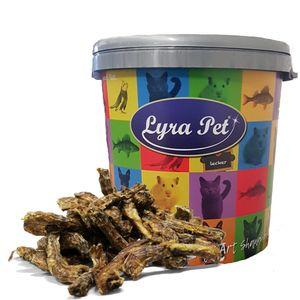 5 kg Lyra Pet® Hühnerhälse in 30 L Tonne