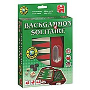 Jumbo Backgammon & Solitaire  Reisespiel | 19508