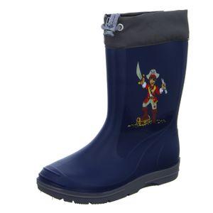 Sneakers Jungen-Gummistiefel Pirat Blau, Farbe:blau, EU Größe:30