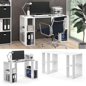 Vicco Schreibtisch ARIAN Arbeitstisch Bürotisch Regal PC Tisch Schublade Ablage