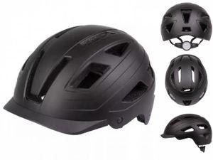 M-Wave fahrradhelm Urban 400 Gramm ABS matt schwarz mt 55-58 cm