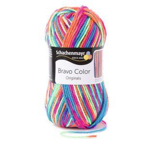 Schachenmayr Bravo Color, 9801421-00095, Farbe:Electra, Handstrickgarne