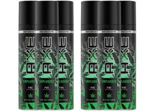 Axe Mood Booster Deospray Unplugged Pine Deo 6x 100 ml ohne Aluminium mit erfrischendem Duft