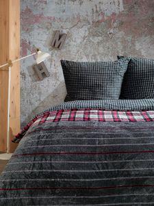 Bettwäsche 135x200 cm Winter Flausch Teddy Plüsch 2 teilig Winterbettwäsche Fleece Reißverschluss Cashmere Touch Kissenbezug 80x80 cm