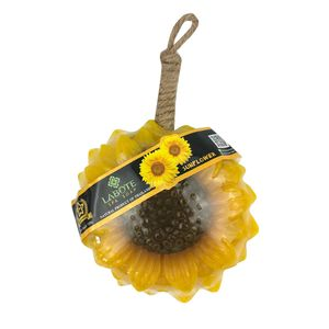 LABOTESeife-handgeschnitzt-Sonnenblume-Blumenseife,Naturseife,Dekoseife