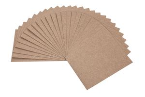 Kraftpapier A5, 25 Stück