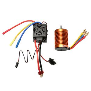 RC 3650 Bürstenloser Motor Wasserdicht 60A ESC Elektronisches Drehzahlreglerset