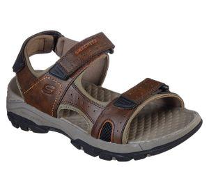 Skechers Men USA TRESMEN HIRANO Sandalen/Outdoor-Sandalen Men Braun, Schuhgröße:44 EU