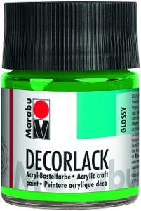"Marabu Acryllack ""Decorlack"", hellgrün, 50 ml, im Glas"