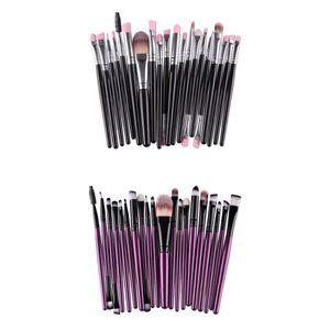 40 Stück Make Up Pinsel Set, Premium Synthetic Foundation Powder  Pinsel Concealers Lidschatten Kosmetikpinsel Kit, Schwarz \\u0026 Lila