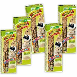 Nestor Leckerbissen Futtersticks mit Sesam Samen für Hamster Meerschweinchen Kaninchen