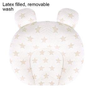Neugeborenes Babykissen Verhindern Flaches Kopfkissen Säuglingsschlafunterstützung Waschbares Kissen