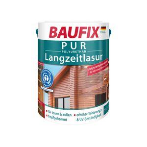 BAUFIX PUR-Langzeitlasur teak