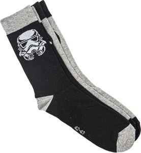 STAR WARS - Socken für die Großen - 2 Paar Socken - Rebel Alliance & Stormtrooper, Schuhgröße:42/43