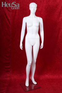 Weiße Schaufensterpuppe weiblich