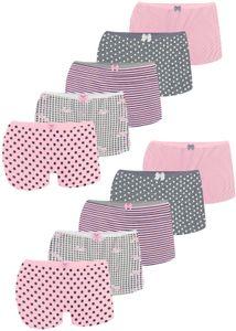 10 Mädchen Pantys aus Baumwolle K-0011 Unterwäsche 140-146 (10-11 Jahre)