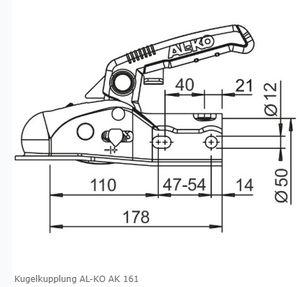 AL-KO Kugelkupplung AL-KO AK 161
