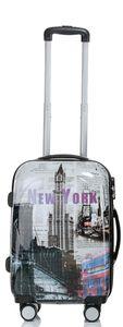 Koffer Trolley Gr. M mit Motiv BB New York
