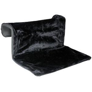 Katze Heizkörperliege Heizungsliege Heizungshängematte Bezug waschbar Schwarz
