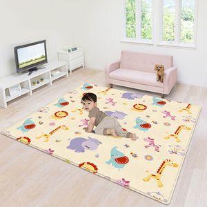 Baby-Spielmatte Faltbare Baby-Krabbelmatte Wendbare Baby-Spielmatte Rutschfest