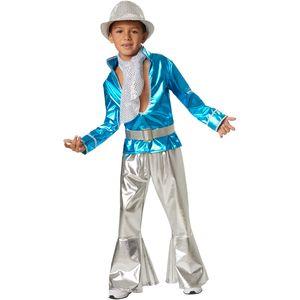 dressforfun Jungenkostüm Disco Boy - 128 (7-8 Jahre)