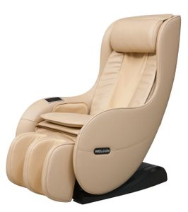 WELCON Massagesessel EASYRELAXX beige - 3D Massagestuhl mit Neigungsverstellung elektrisch
