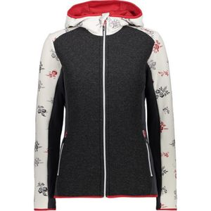 CMP Damen Jacke Hybridjacke mit Kapuze