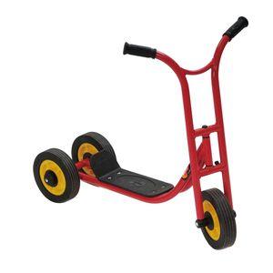 Weplay KM5506 Roller Laufrad Dreirad, 3 Räder, rot (1 Stück)