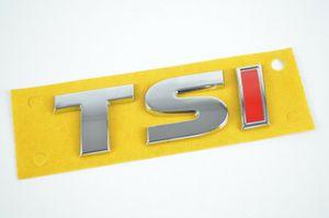 TSI Schriftzug Emblem Logo selbstklebend VW Audi Seat Skoda 5G0853675A - I=rot